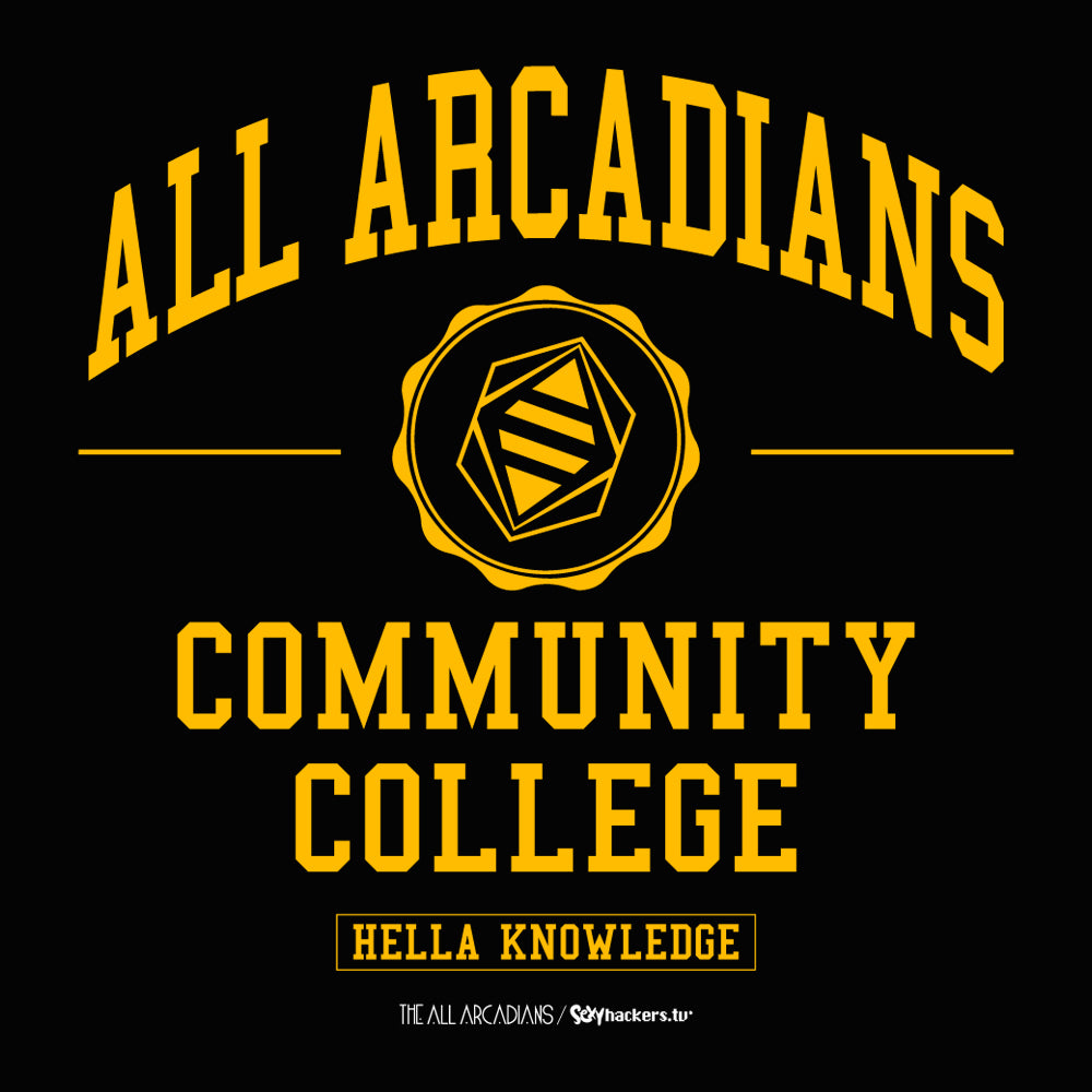All Arcadians Community College Women's Scoopneck T-shirt
