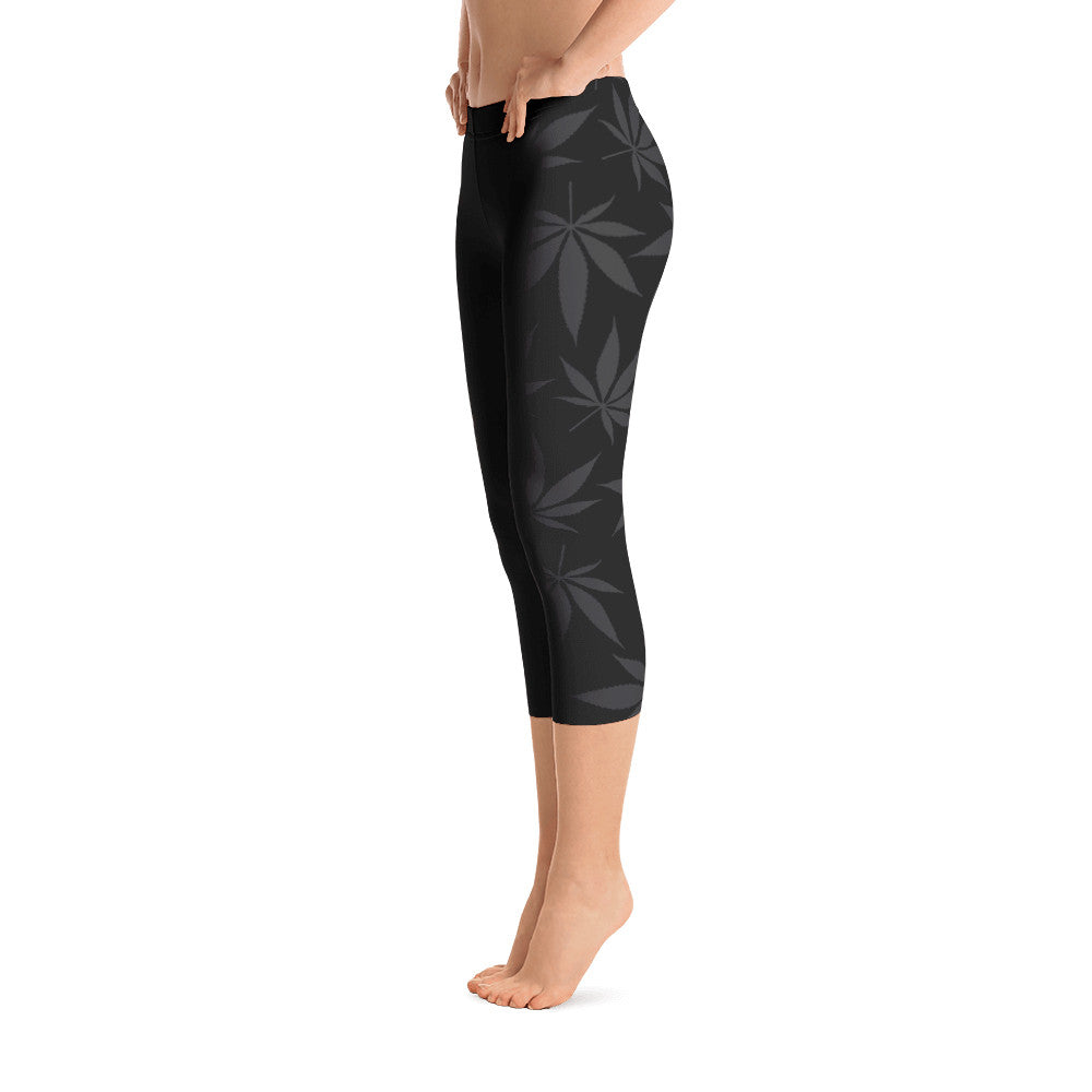 "Gamers love our ""Up In Smoke"" Capri Leggings"