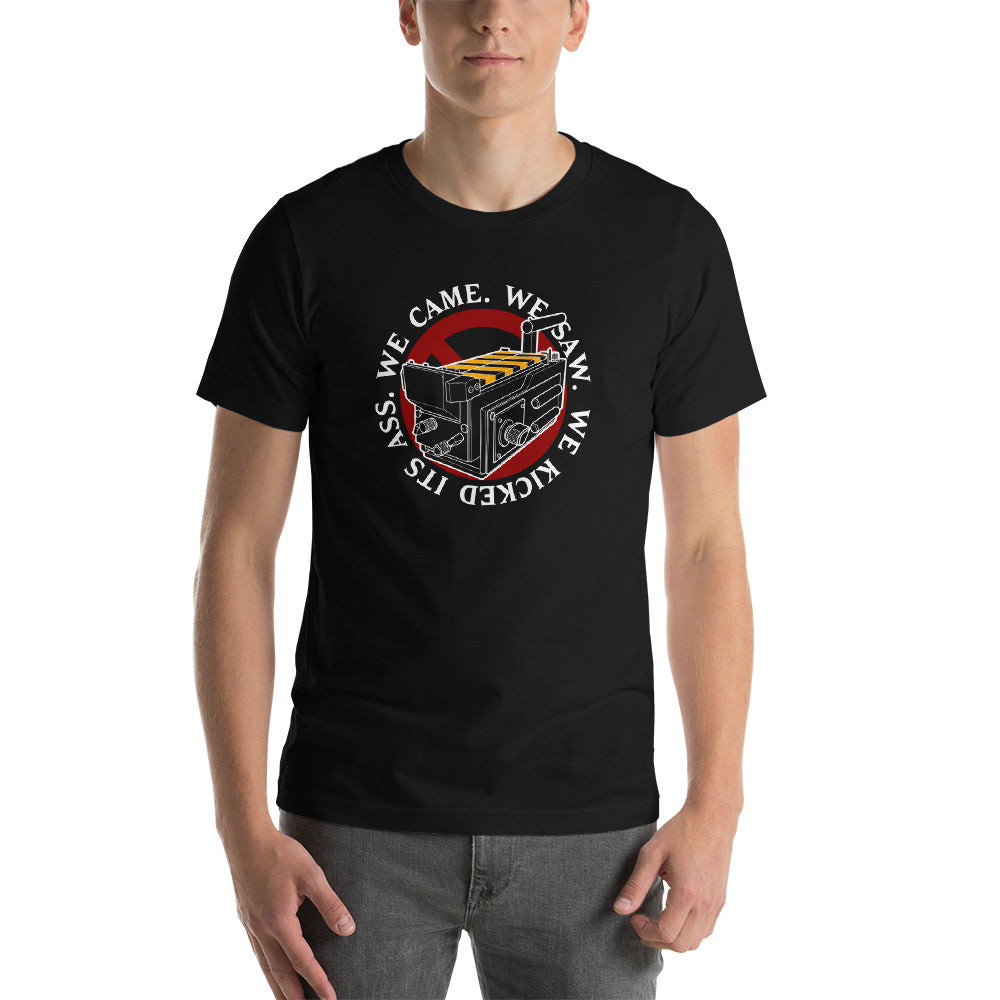 We Came We Saw We Kicked Unisex T-shirt
