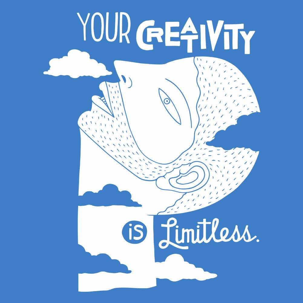 Your Creativity is Limitless Unisex T-Shirt by Sexy Hackers