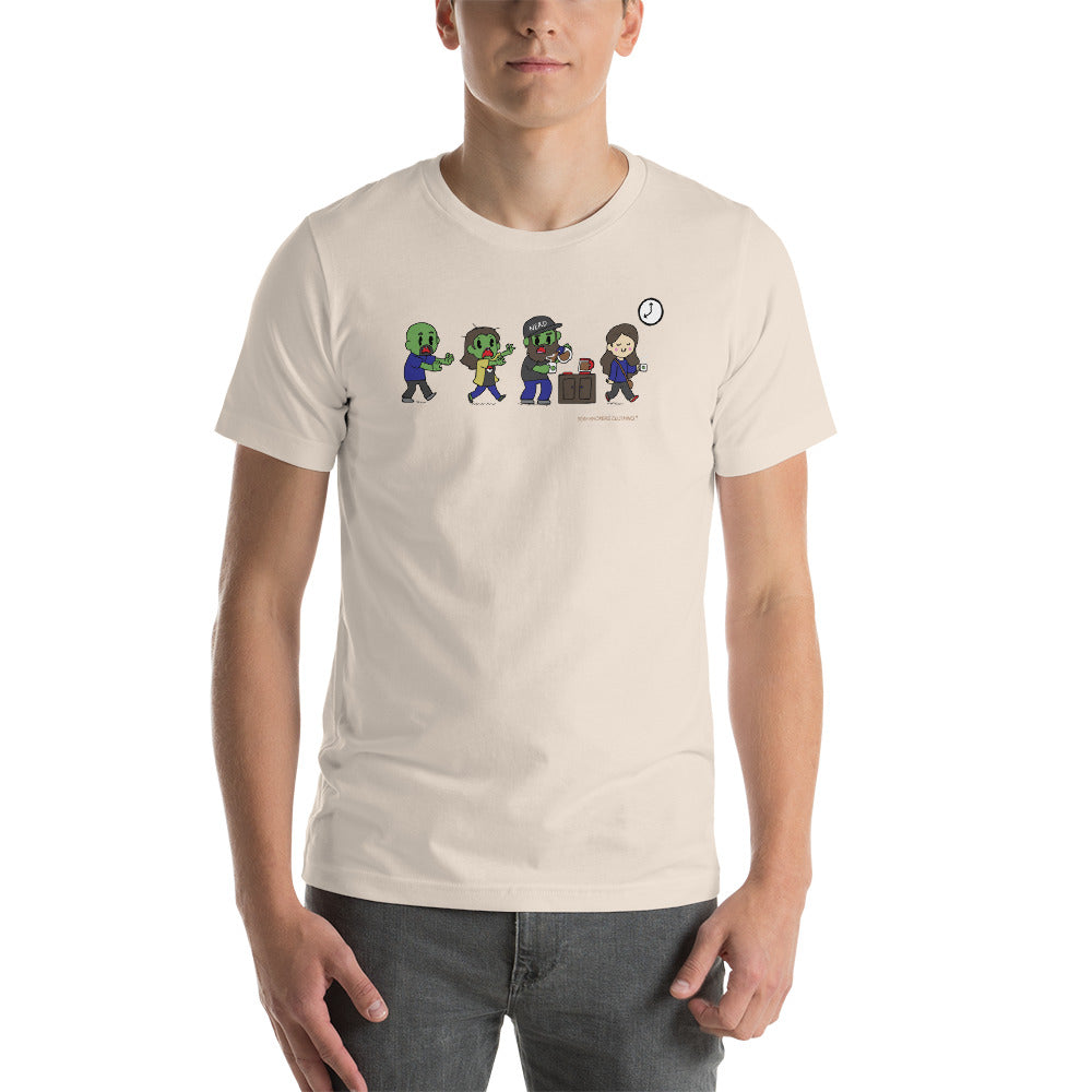Zombie SexyHackers Team Unisex T-shirt
