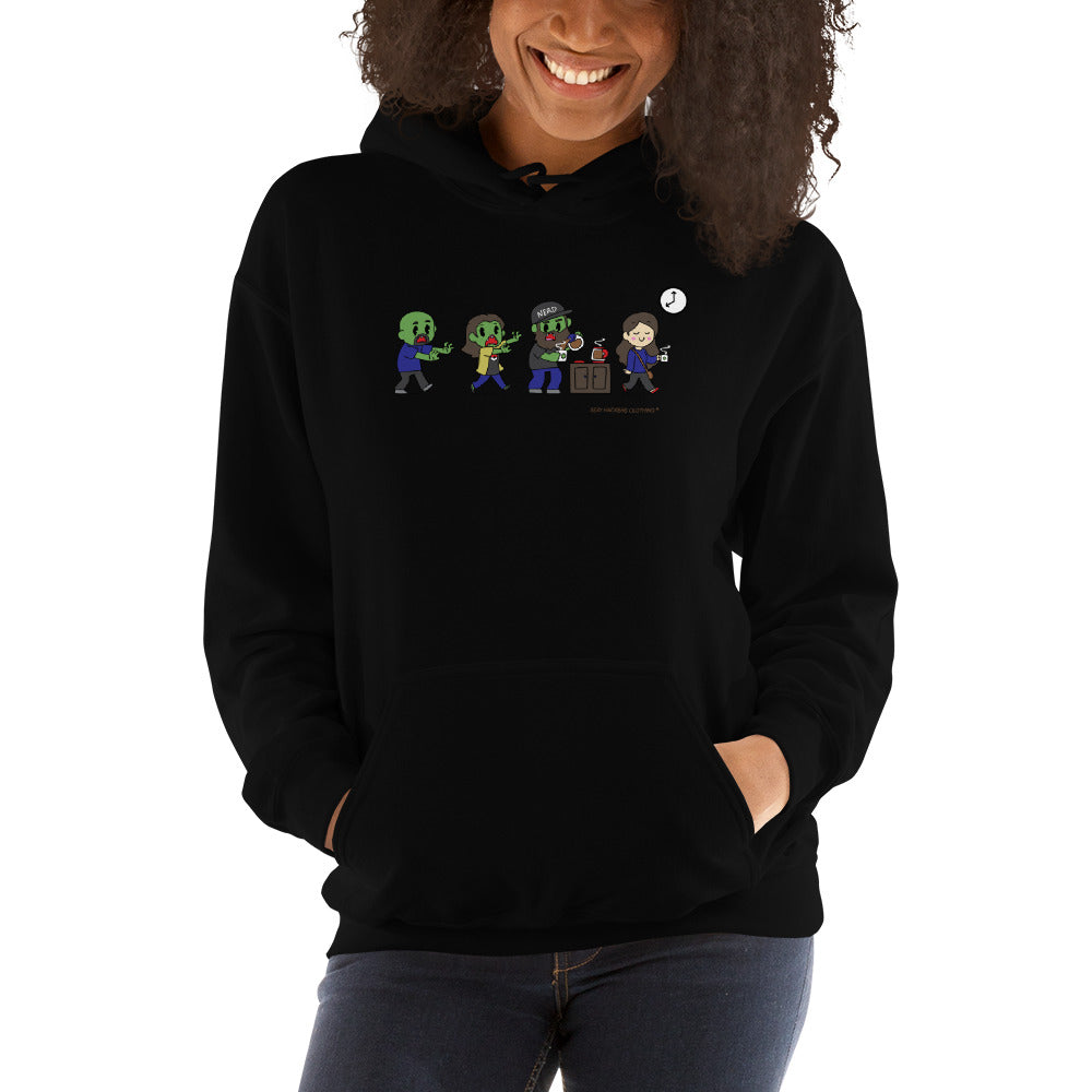 Zombie SexyHackers Team Unisex Hoodies