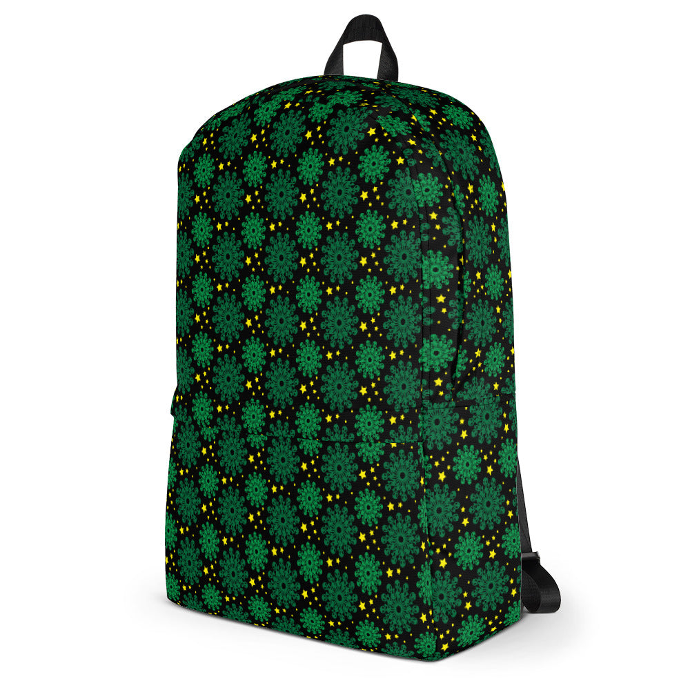 Alien Patterned Backpack