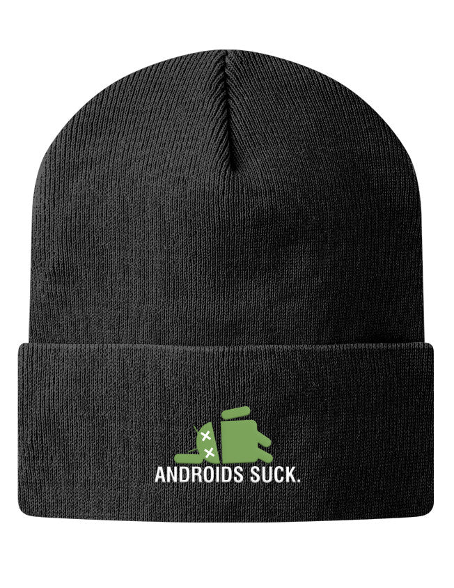 Knit Beanie - Androids Suck