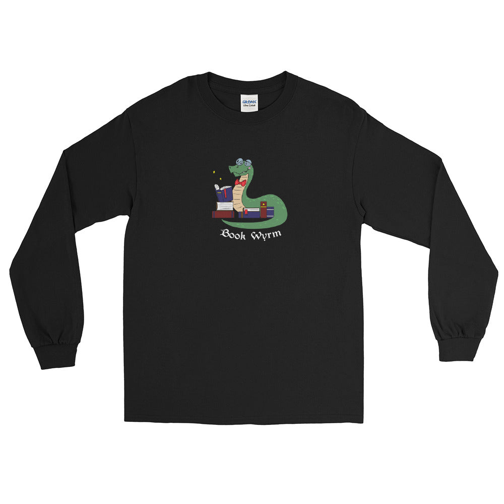 Book Wyrm Men's Long Sleeve