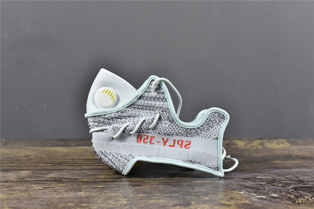 Adidas Boost 350 V2 Blue Tint - Face Mask