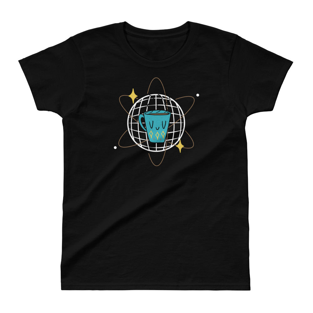 Atomic Coffee Ladies Ultra Cotton T-shirt