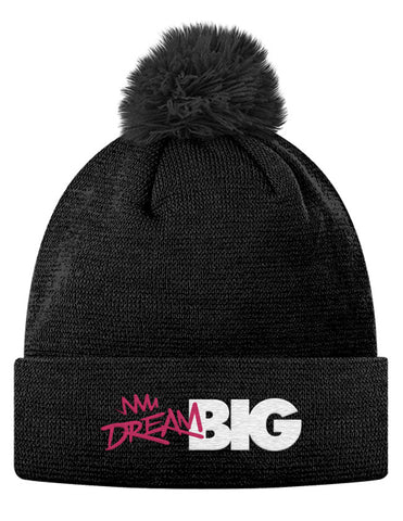 Dream Big Pom Pom Knit Cap
