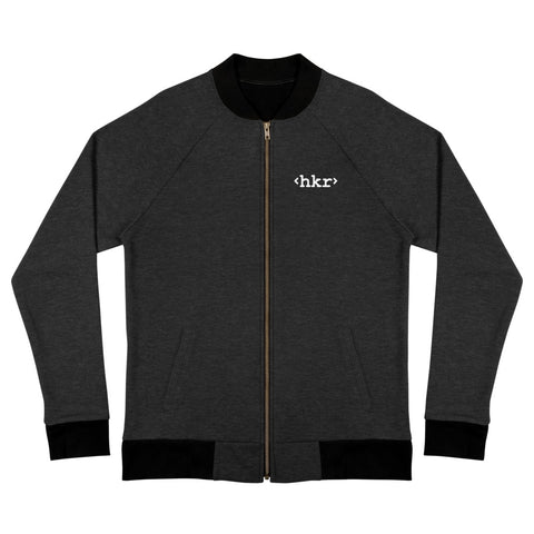 hkr Embroidered Bomber Jacket