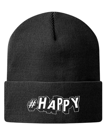 #Happy Knit Beanie
