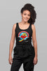 Turn-To-Page Fun Women's Racer-back Tank-top