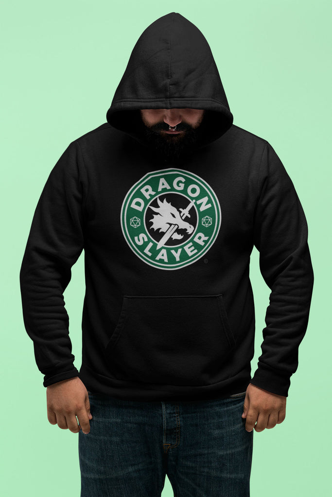 RPG Dragons Starbucks Logo Unisex Hoodies