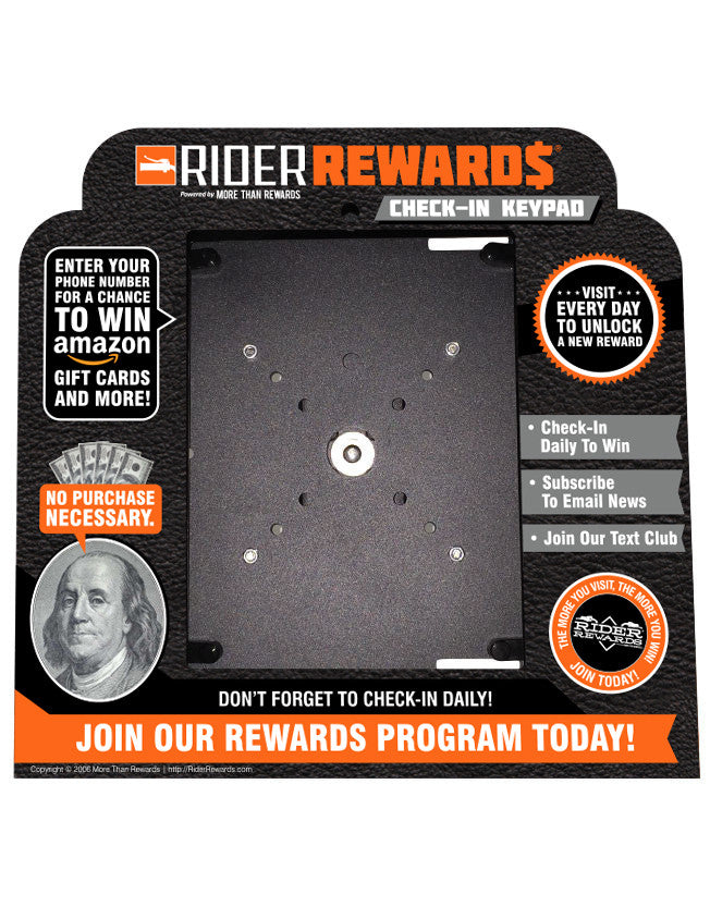 - Rider Rewards <br> Self Install Kit  - 3