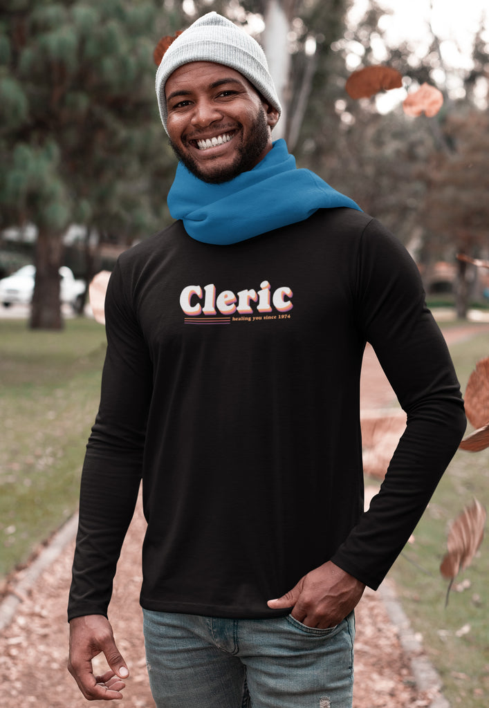 Cleric - Kicking it Old School Men's Long Sleeve