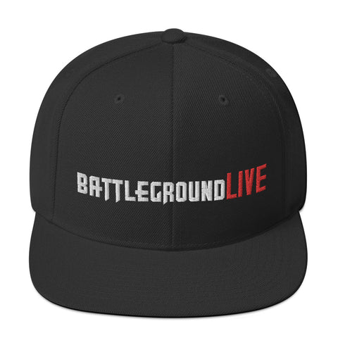 BattlegroundLIVE Embroidred Snapback Hat