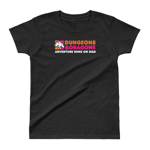 Dunkin' Donuts D&D Ladies' Ultra Cotton T-Shirt by Sexy Hackers