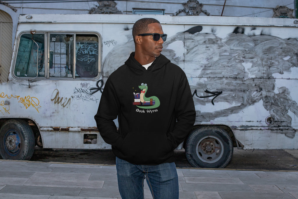Book Wyrm Unisex Hoodies