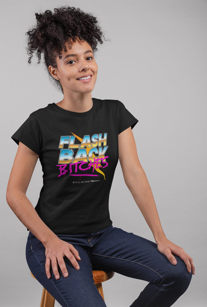 Flashback Bitches Women's Scoopneck T-shirt