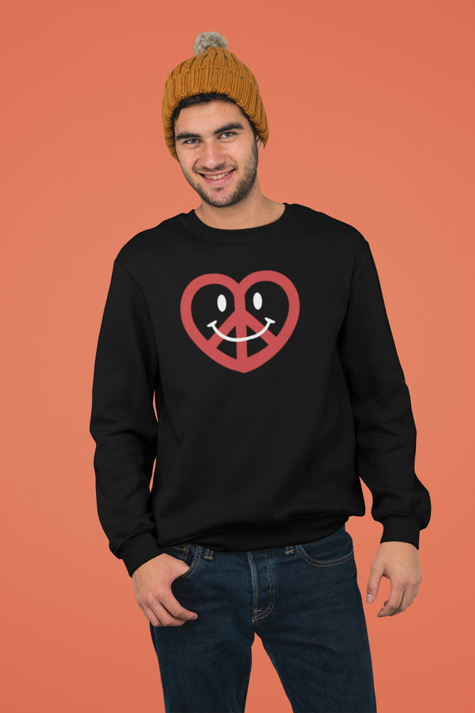 Love, Peace, & Happiness Unisex Sweatshirts