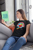 Turn-To-Page Fun Women's Scoopneck T-shirt