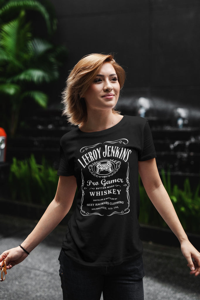 Leeroy Jenkins Ladies Ultra Cotton T-shirt