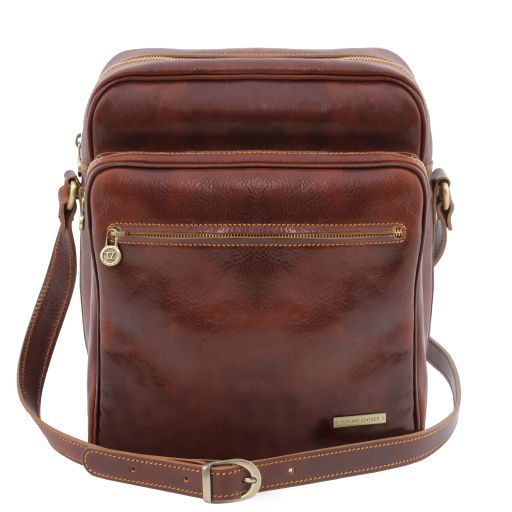 Exclusive Leather Crossbody Bag OSCAR