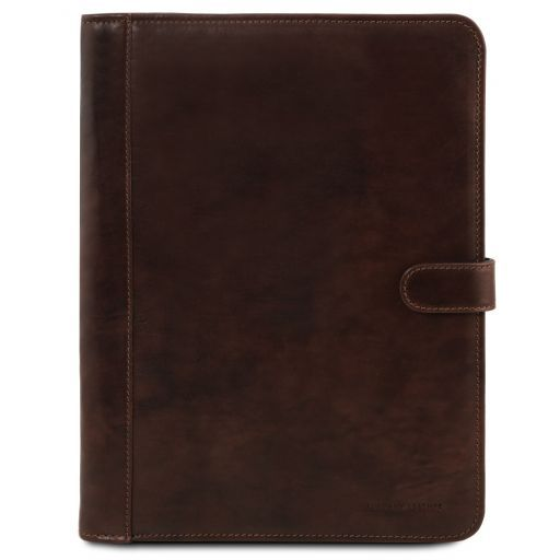 Leather document case ADRIANO