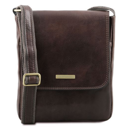 Leather crossbody bag JOHN