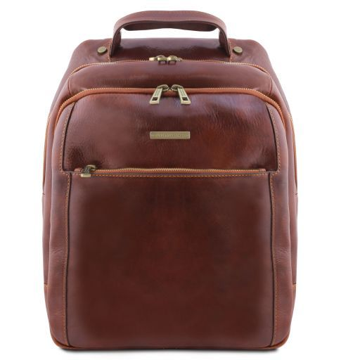Leather laptop backpack PHUKET