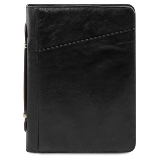 Leather Document Case Claudio