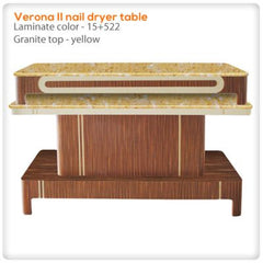 Verona II nail dryer table