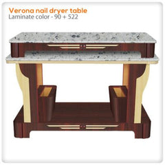 Verona nail dryer table