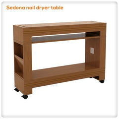 Sedona nail dryer table