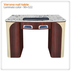 Verona manicure nail table