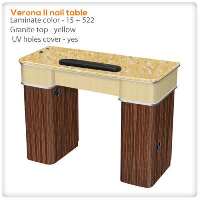 Verona II nail table