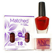#18 Red Tini Polish & Powder Combo