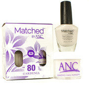 #80 Gardenia Polish and Powder Combo