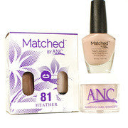 #81 Heather Polish and Powder Combo