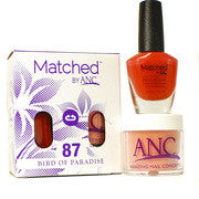 #87 Bird of Paradise Polish and Powder Combo