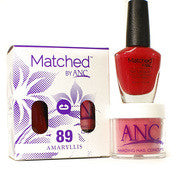 #89 Amaryllis Polish and Powder Combo