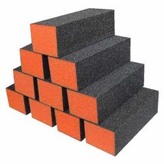 DIXON-Orange Buffer 100/100 3-Way Black Grit. 500/Box