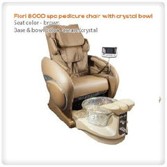 FIORI 8000 Pedicure Spa with Crystal Bowl.