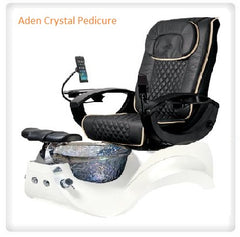 Whale Spa -  Aden Crystal Pedicure Spa Chair