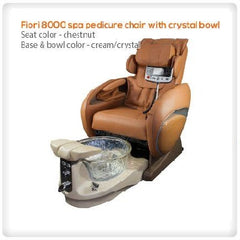Fiori 8000 Pedicure Spa with Crystal Bowl