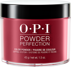 OPI DIPPING COLOR POWDERS - #DPH02 CHICK FLICK CHERRY 1.5 OZ
