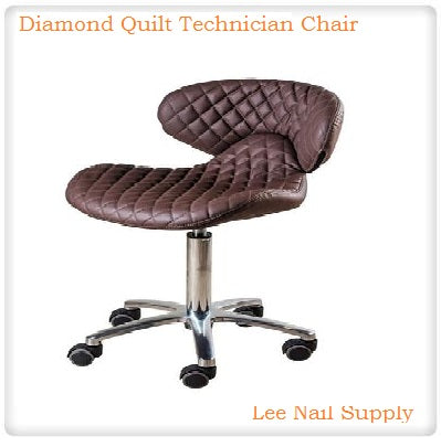 Diamond Quilt Technician Chair