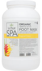 ORGANIC WARMING BUTTER FOOT MASK Tropical Citrus
