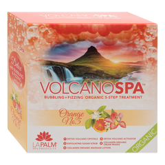 LA PALM - CASE 36/PKS VOLCANO PEDI IN A BOX - 5 STEP ORANGE NO 5