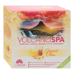 LA PALM - CASE/36PKS VOLCANO PEDI IN A BOX - 5 STEP TROPICAL CITRUS
