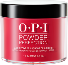 OPI DIPPING COLOR POWDERS - #DPA70 RED HOT RIO 1.5 OZ